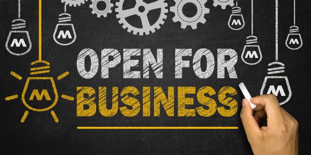 We are OPEN for business 620x310